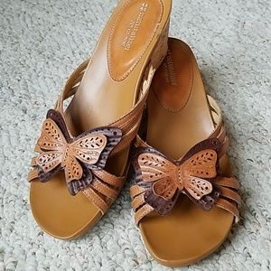 Butterfly sandals